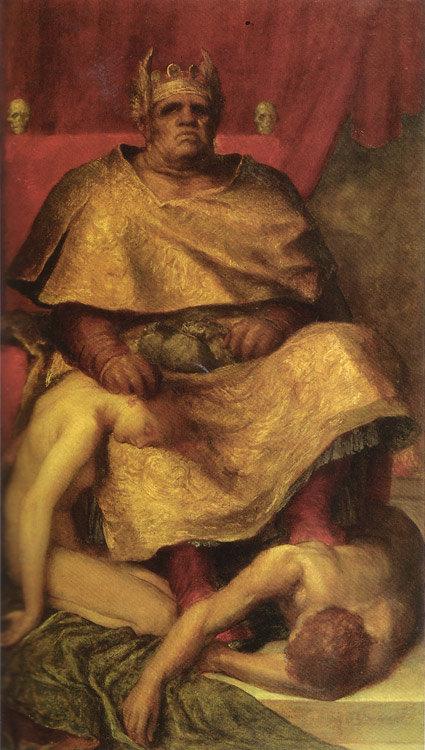 """""""Mammon"""" von George Frederick Watts (1885)"""